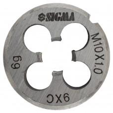 Плашка М10×1,0мм Sigma (1604261)
