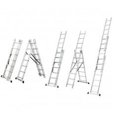 Лестница раскладывающаяся универсальная 10 ступенек Sigma (5032344)