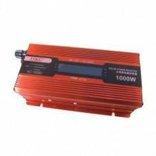 Преобразователь 1000W KC-1000D + LCD 12V