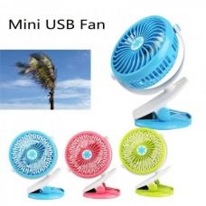 Вентилятор MINI FAN Clip ML-F168 USB
