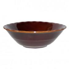 Миска пенка коричневая 450 мл