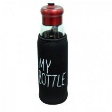 "Термобутылка в чехле с заварником ""My bottle"" 420 мл Османтус"