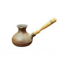 Турка керамическая 600 мл Гладкая косичка Османтус