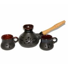 Набор турка керамическая 500 мл + 2ч-100 мл Стандарт Османтус