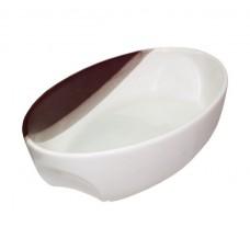 """Форма для запекания """"A"""" капля бело-терракотовая 1500 мл 30 × 18,5 × 6,5 см"""
